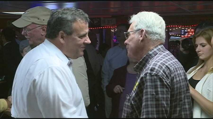 Friday marked Chris Christie's fourth trip to the Granite State this year to support GOP gubernatorial hopeful, Walt Havenstein.