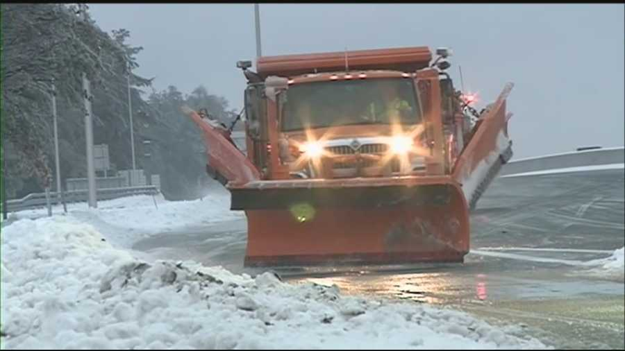 New Hampshire State Police said they've responded to over 125 weather-related crashes since the first storm of 2015 started last night. WMUR's Mike Cronin reports.