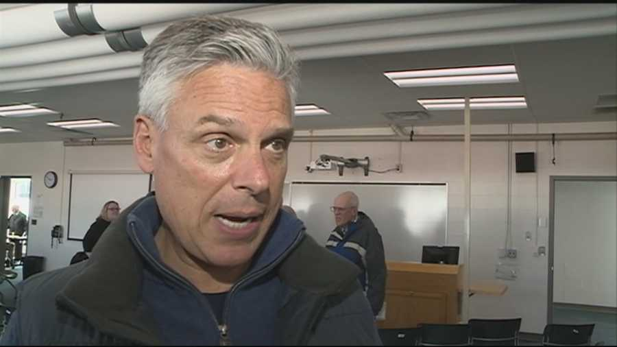 Former Gov. Jon Huntsman (R, Utah) visited New Hampshire Friday and Saturday on behalf of his non-profit organization, No Labels.