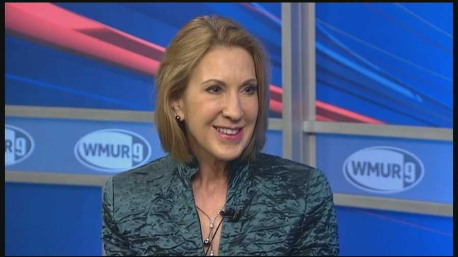 Republican Carly Fiorina is reportedly set to officially enter the presidential race, and she's crediting New Hampshire with helping her make the call.