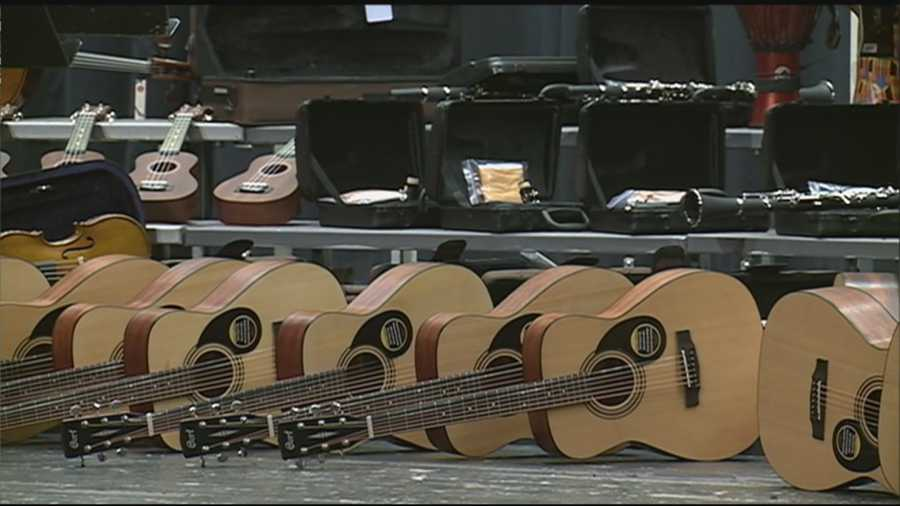A generous donation is bringing sweet sounds to Manchester schools.