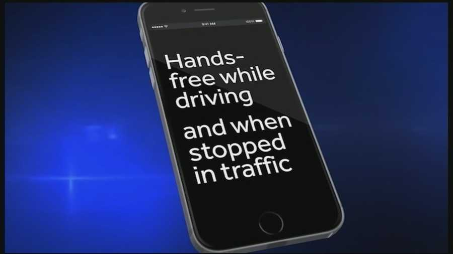 Drivers in New Hampshire will have to put down their phones in the car when a new law goes into effect July 1.