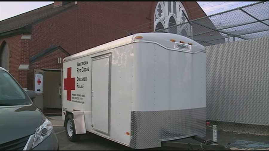 The Red Cross is helping Nashua residents who are still without a permanent place to sleep after a five-alarm fire tore through two apartment buildings Monday. WMUR's Stephanie Woods reports.