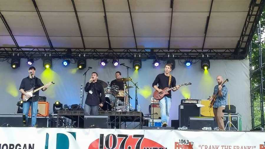 The Greenlights of Concord, New Hampshire, played Sunday at 2:30 p.m. at the Granite State Music Festival.