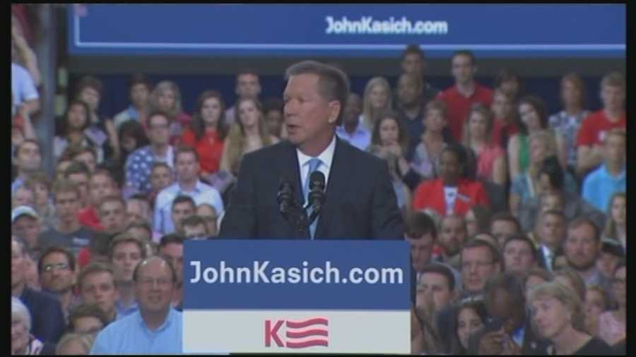 Ohio Gov. John Kasich announced he is running for president Tuesday, becoming the 16th Republican in the race.