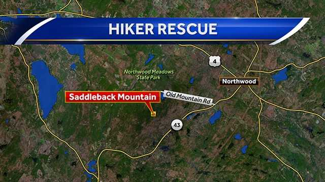 Father, son rescued while hiking in Northwood on pawtuckaway state park map, northwood nh, greenfield state park map, silver lake state park map,