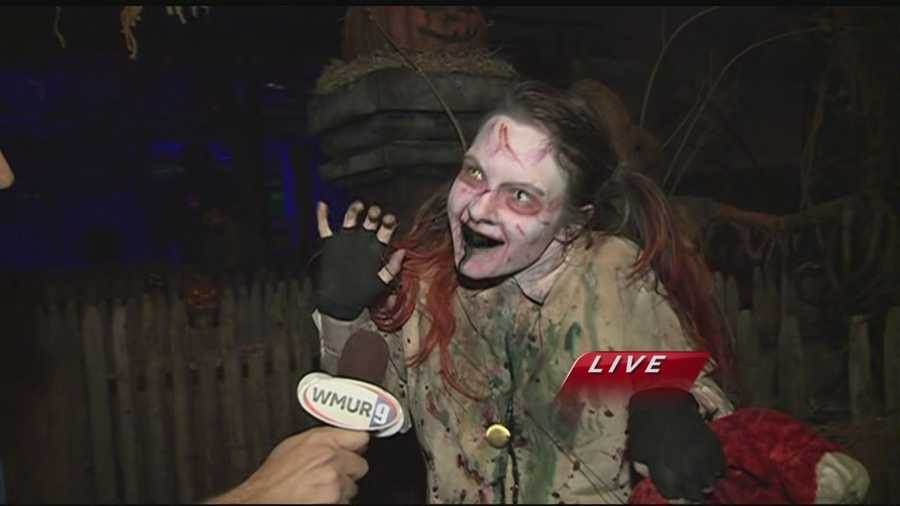 Chief Meteorologist Mike Haddad is visiting Fright Kingdom in Nashua for this week's Haunted Thursday.