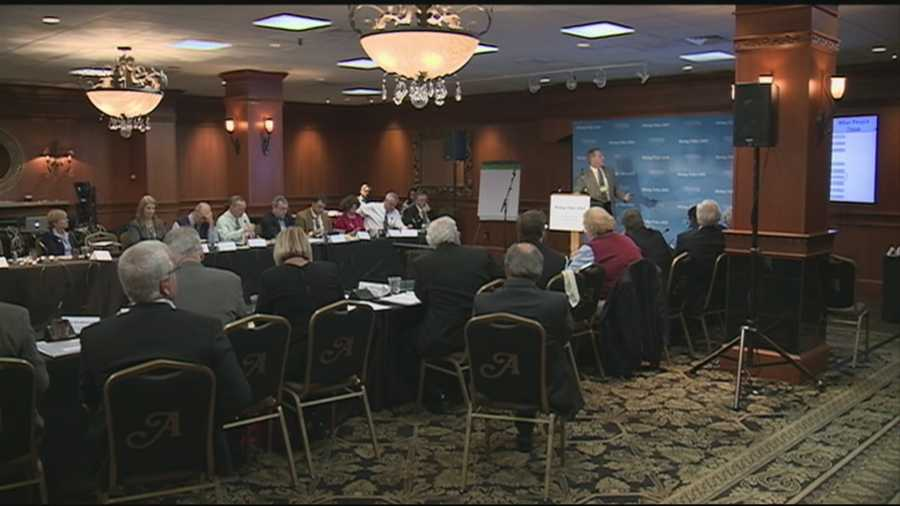 Dozens of elected leaders were in Hampton on Saturday for a bipartisan conference on rising sea levels.