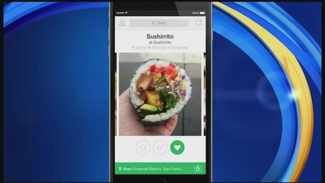 There are many apps that help you find and rate food online, but in today's Tech Talk we show you one that stands out from the rest. This app connects you with exactly what you're craving.