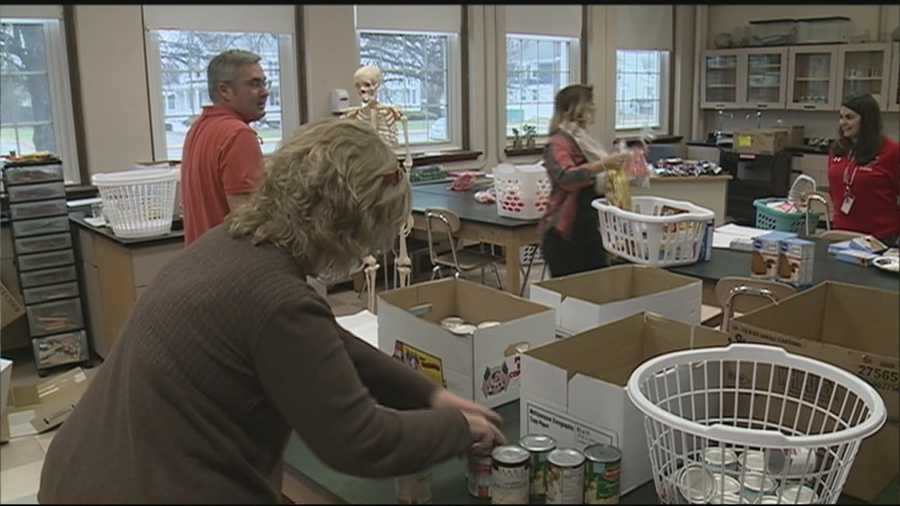 Thanksgiving is just four days away and charitable efforts are kicking into high gear.