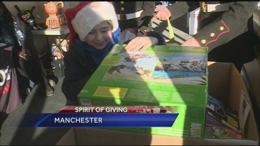 Thanks to help from hundreds of supporters, the 2015 Spirit of Giving Toy Drive was a huge success!