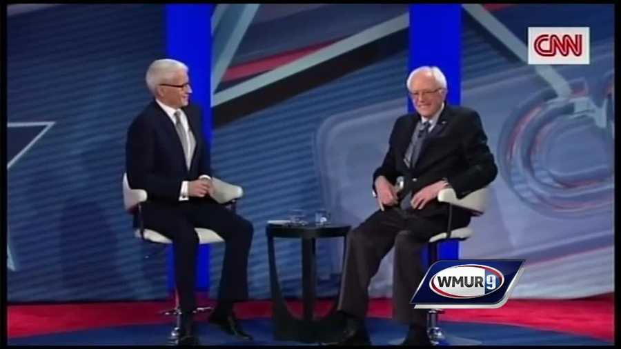 CNN hosts a town hall event in Derry where Hillary Clinton and Senator Bernie Sanders answered questions from voters.