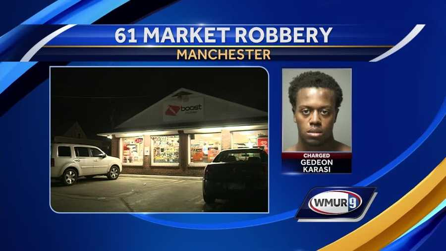 Gedeon Karasi is charged with attempted murder after beating a store clerk with a baseball bat.