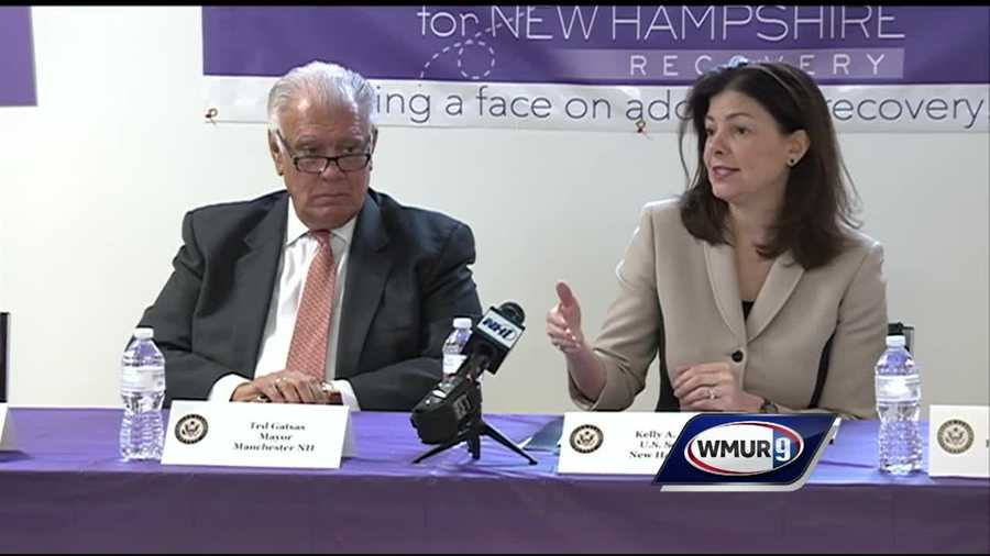 As new statistics on the state's opioid crisis were released Monday, a group of people who have seen the devastation firsthand talked to U.S. Sen. Kelly Ayotte about the problem.