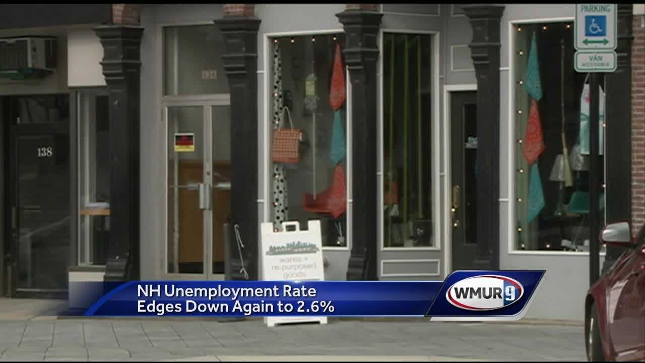 Jobless numbers have continued to drop in New Hampshire, pushing the state's unemployment rate well below the national average.