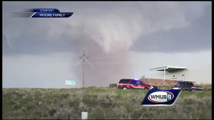 A New Hampshire family has been chasing severe storms in the Midwest.