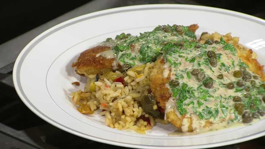 Fred Manheck from Celebrations Kitchen shows how to make this easy and tasty chicken dish.