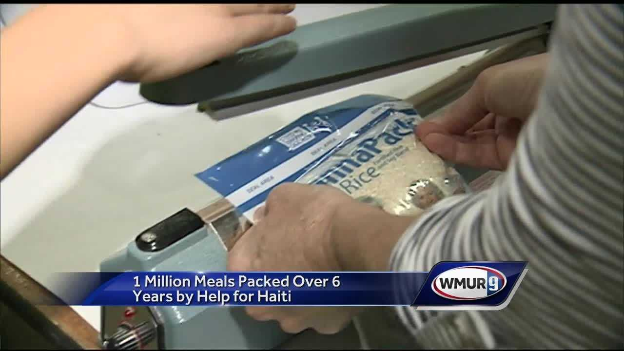 """Help For Haiti"" sends more than one million meals to Haiti."