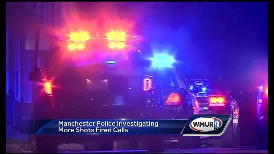 Manchester police said Tuesday they are getting more concerned about a spike in gun violence after a pair of incidents over the holiday weekend.