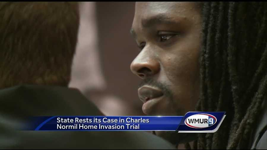 Prosecutors rested their case Thursday in the trial of a man accused of assaulting a couple in the Bedford home during a home invasion.