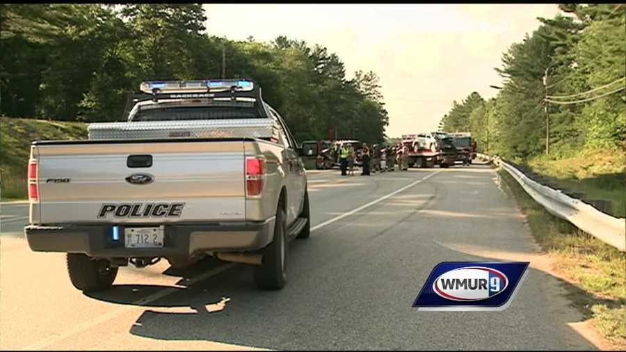 A head on crash in Loudon sent two people to the hospital with serious injuries.
