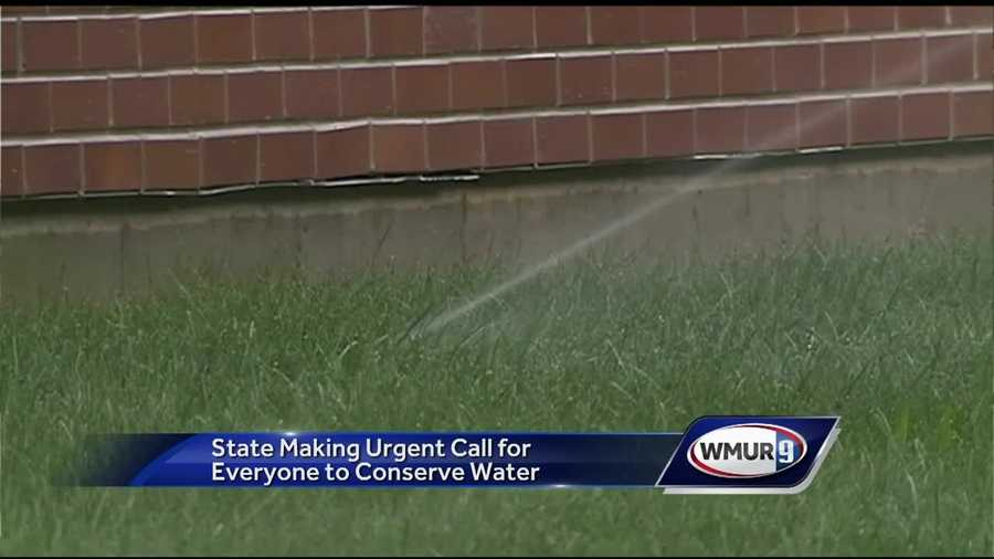 The state is putting out an urgent call for everyone to conserve water as drought conditions continue.