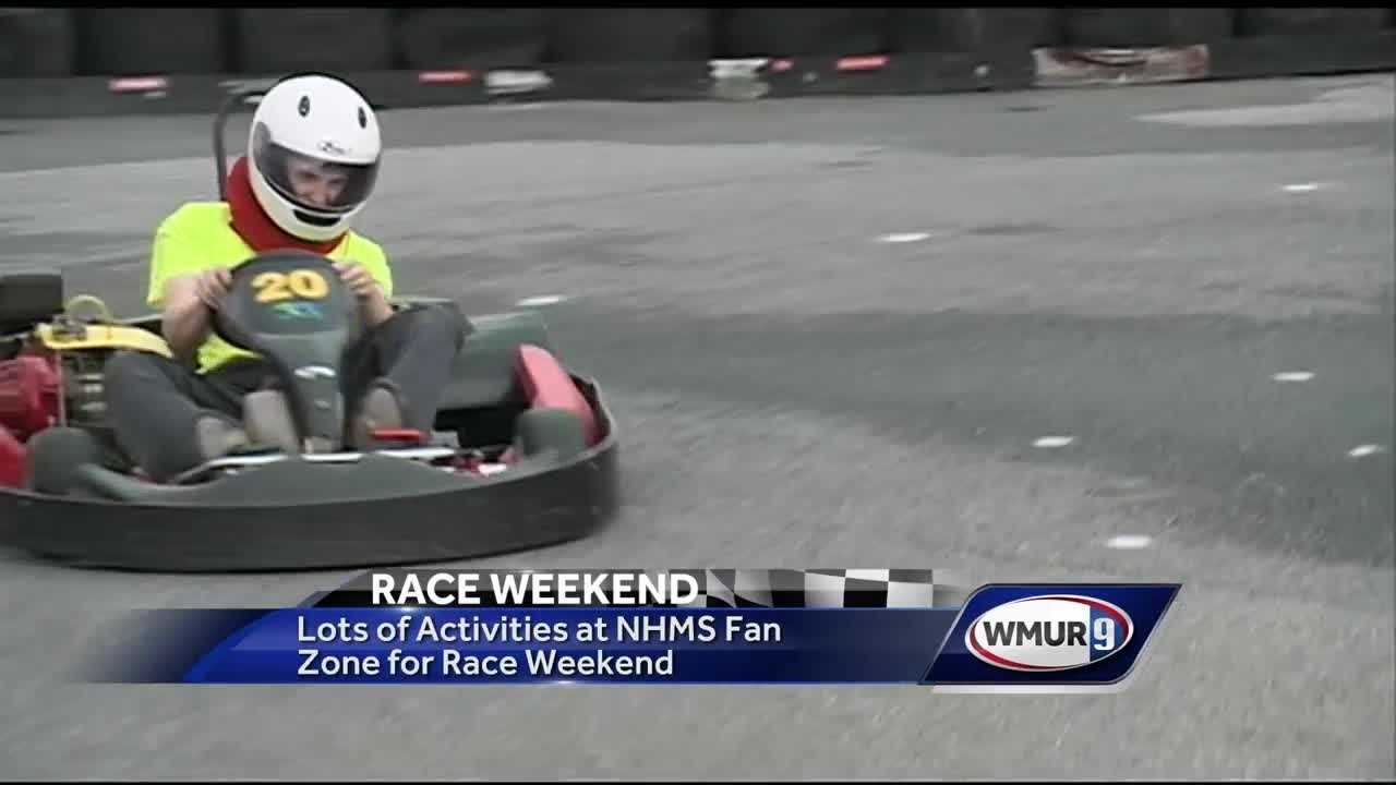 NASCAR is back in New Hampshire, and race fans were pouring into the Granite State on Friday.