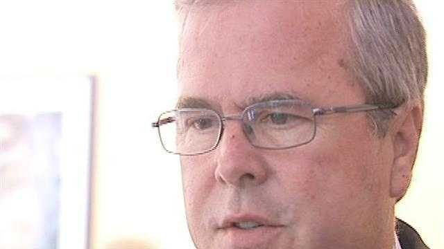 Former Gov. Jeb Bush has endorsed Connie Mack for U.S. Senate.