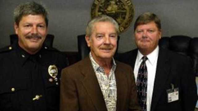 Charles McCutcheon (center), who served as Palm Beach County's sheriff from 1995 to 1996, is dead at the age of 83.