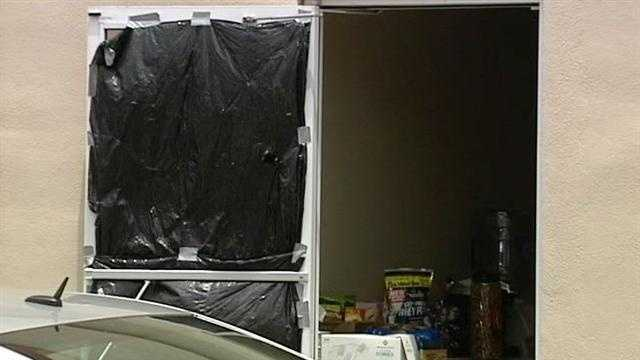 Federal and local law enforcement agencies raid a warehouse where they say synthetic marijuana was being made.