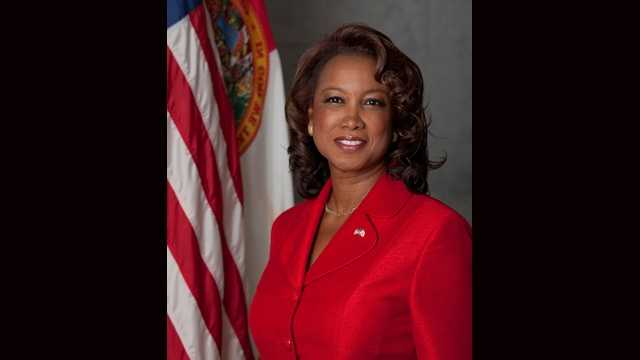 Jennifer Carroll was the first female lieutenant governor in Florida's history.