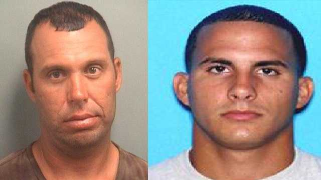 Police said Jose Mainardi and Rolando Campo were arrested in connection with a series of high-end personal watercraft thefts.