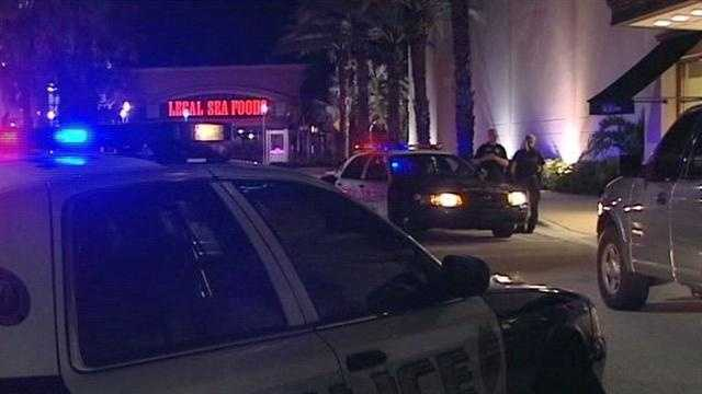 Police say at least three men with sledgehammers robbed the Saks Fifth Avenue in Boca Raton.