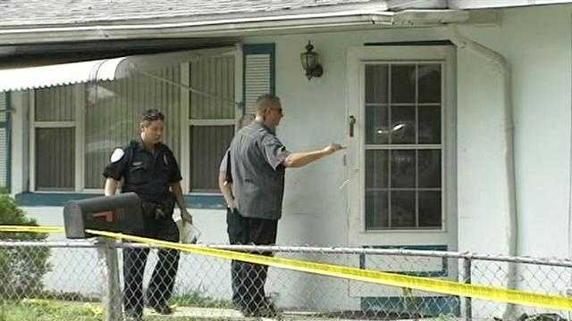 A man is shot during an apparent attempted home invasion robbery in Fort Pierce.
