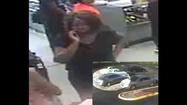 Detectives are trying to identify this woman who robbed a 60-year-old woman after driving her to a pawn shop in Mangonia Park.
