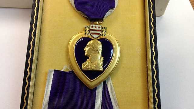 Loved ones of a 1940s POW will finally receive this long-lost Purple Heart medal.