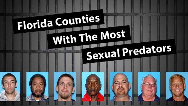 "See the Florida counties with the most people listed as ""sexual predators."" A sexual predator is a person who has been convicted of a sexually violent offense as defined in Florida Statute 775.21. Under Florida law, sexual offenders are considered to pose a high risk of engaging in sexual offenses even after being released from incarceration or commitment."