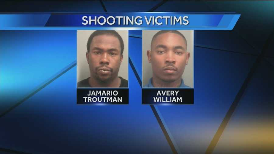Two men were shot dead in West Palm Beach on Friday night.