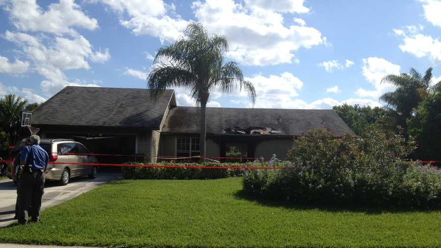 Nobody was injured in a fire at this Jensen Beach house.