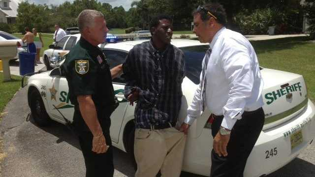 Martin County Sheriff's Office deputies arrest this burglary suspect in Palm City.
