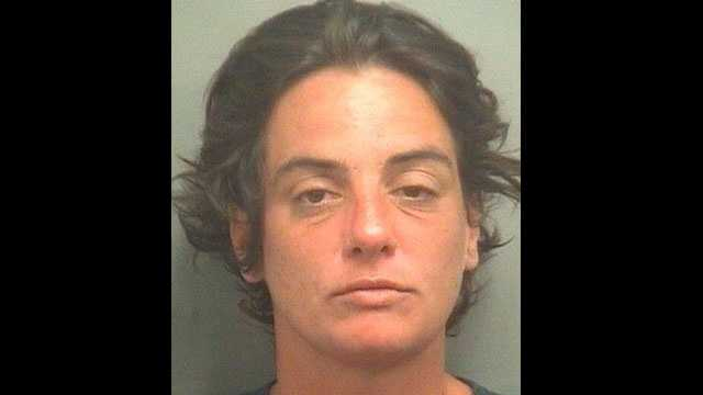 Barbara Erol Rosa is accused of threatening to kill officers and kicking one of them in the buttocks.