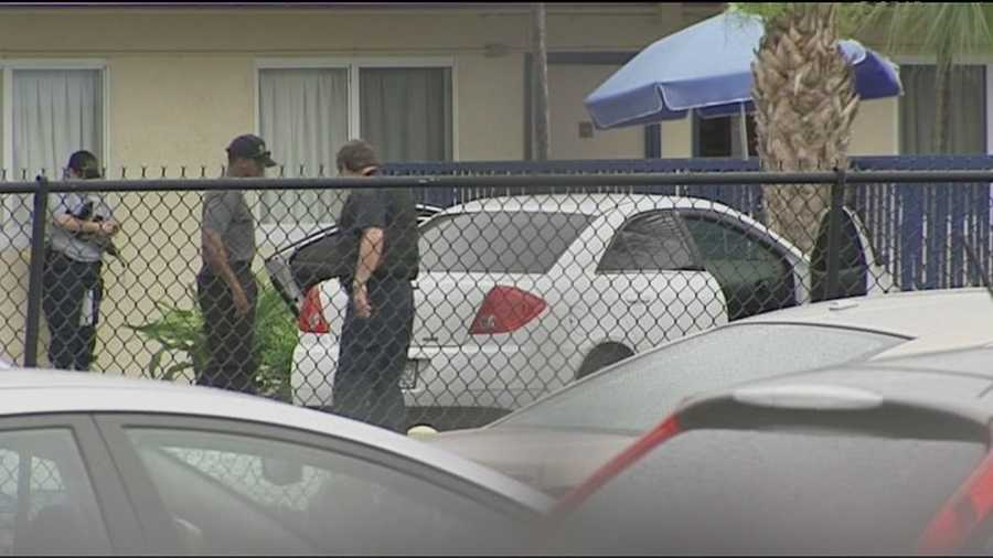 A man was killed and two other people were hospitalized after a triple shooting in Riviera Beach.