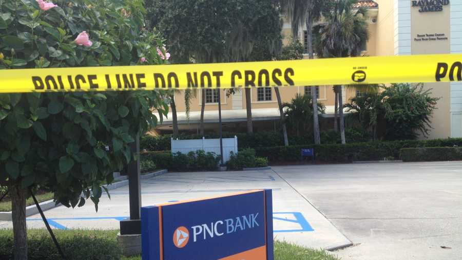 Police say a man robbed this PNC Bank in Vero Beach.