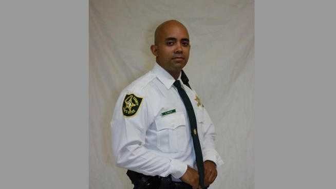 Deputy Daniel Rivera died after crashing his car into a tree off Interstate 95 in Pompano Beach earlier this month.