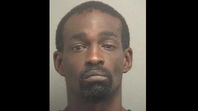 Nathan Anderson is accused of stealing copper from a West Palm Beach building.