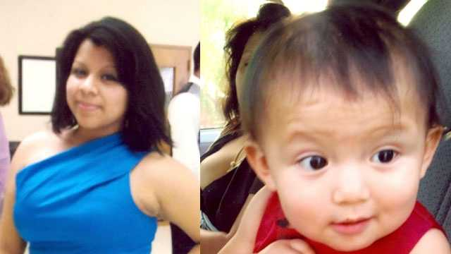 Estefania Rodriguez and her 2-year-old daughter have been missing since Monday.