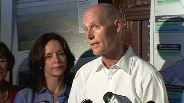 Gov. Rick Scott is expected to request nearly $35 million to help improve three Florida ports.
