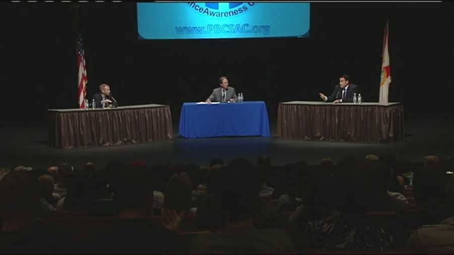 Lake Worth is the setting for a debate about the pros and cons of the legal use of marijuana for medicinal purposes in Florida.