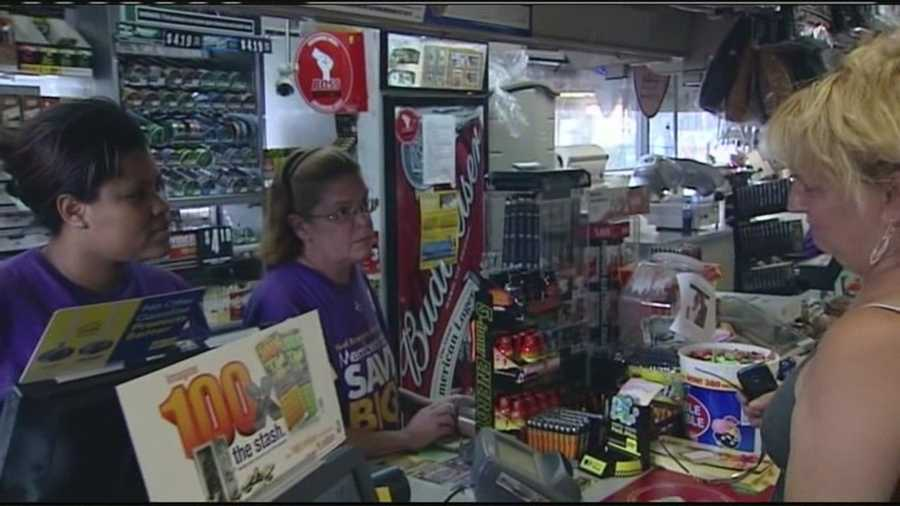 A local convenience store known to be among the top sellers of Mega Millions tickets is of course busy when the jackpot is above $630 million.