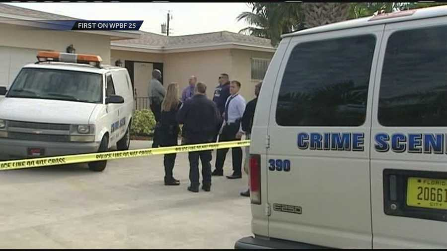 Police raid the West Palm Beach home of former Palm Beach County Commissioner Maude Ford Lee.
